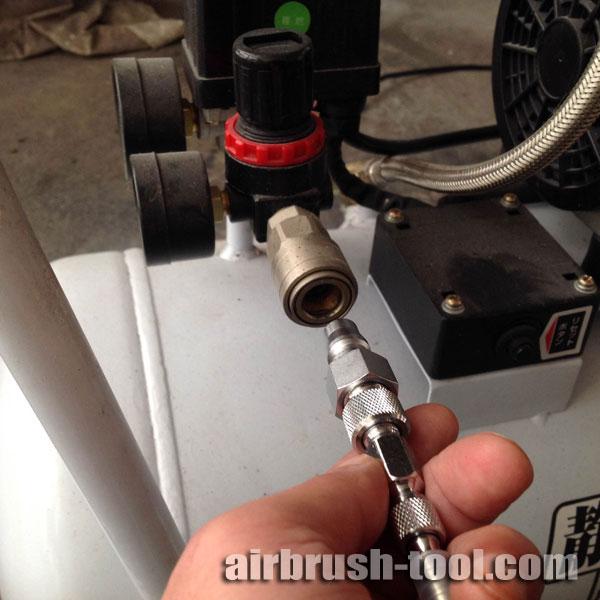 画像4: エアーブラシ用シリコンチューブホース【S-Sタイプ】1〜5m + 接続金具(S-Sジョイントネジ・S-Lチェンジネジ・カプラプラグ)付き